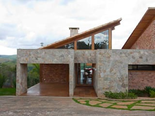 Casa da Montanha 8: Casas  por David Guerra Arquitetura e Interiores