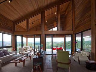 Casa da Montanha 12: Casas  por David Guerra Arquitetura e Interiores