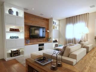 Livings modernos: Ideas, imágenes y decoración de MeyerCortez arquitetura & design Moderno