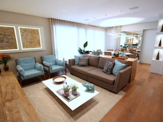Salas modernas de MeyerCortez arquitetura & design Moderno