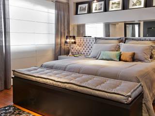 Joana & Manoela Arquitetura ห้องนอน