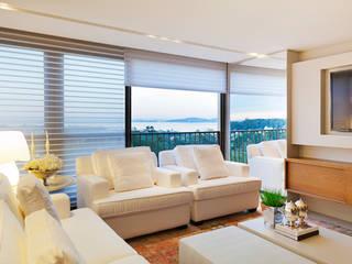 Salones de estilo moderno de Joana & Manoela Arquitetura Moderno