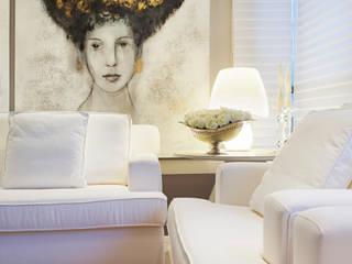 Joana & Manoela Arquitetura Livings de estilo moderno