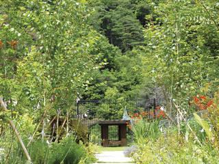 Garten im Landhausstil von WA-SO design -有限会社 和想- Landhaus