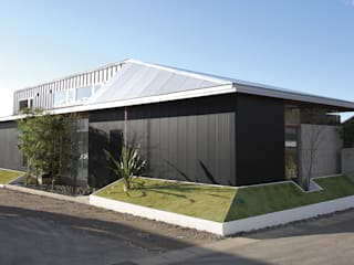 Ausgefallene Häuser von WA-SO design -有限会社 和想- Ausgefallen