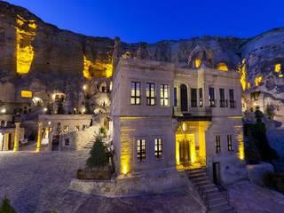 PETEK İNŞ.MİMARLIK DEKORASYON LTD.ŞTİ. – Kapadokya Yunak Evleri Butik Otel:  tarz Duvarlar