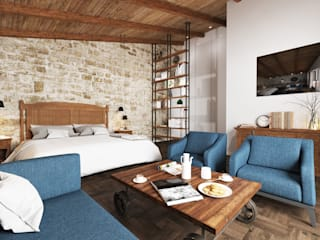 Eclectic style hotels by BURO'82 Eclectic