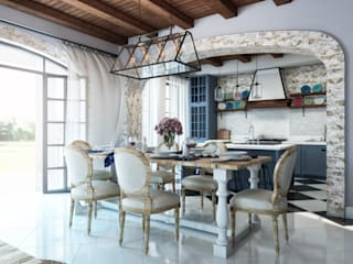 Akdeniz Yemek Odası BURO'82 Akdeniz Taş