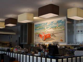Абажуры над барной стойкой Торговый дом «КВАДРО-ЛЮКС Ресторации