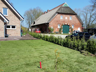庭院 by Garten- und Landschaftsbau Gartenservice Schwanewede