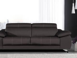 Sofá de línea moderna modelo Murillo:  de estilo  de Merkamueble