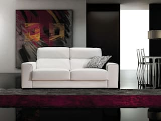 Confortable sofá modelo Hugo:  de estilo  de Merkamueble
