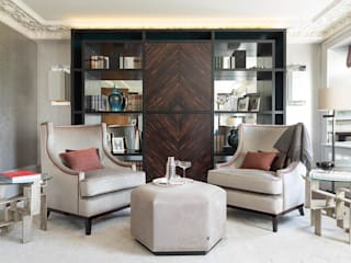 Lancasters Show Apartments - Formal Living Room Modern Living Room by LINLEY London Modern