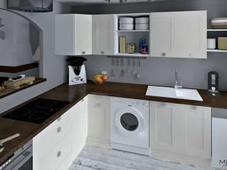MJ Intérieurs Kitchen White