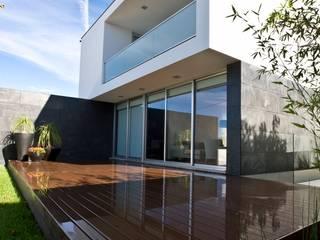A.F. House Atelier d'Arquitetura Lopes da Costa Nowoczesne domy
