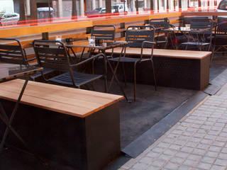 La Terraza del Beat Bares y clubs de estilo industrial de ALBERT SALVIA dissenyador d'interiors Industrial