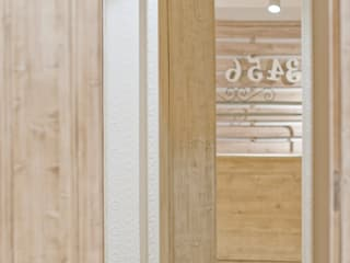 Diseño comercial, Tienda de ropa Espacios comerciales de estilo mediterráneo de estudisimetriq Mediterráneo