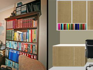 restyling d'un bureau : Bureau de style  par Sfeerontwerp | créateur d'atmosphère