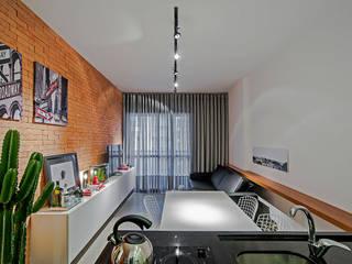 Apartamento LB Salas de jantar modernas por Studio Boscardin.Corsi Arquitetura Moderno