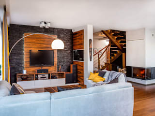 Living room by Viva Design - projektowanie wnętrz, Modern