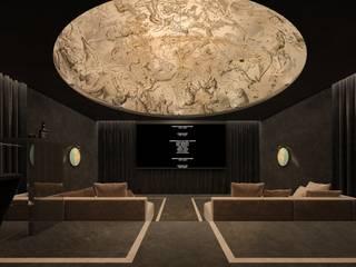 Kino domowe : styl , w kategorii  zaprojektowany przez Concept