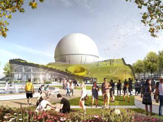 """Учебно-исследовательский центр HHN """"Газгольдер"""": Школы и учебные заведения  в . Автор – db-arch studio"""