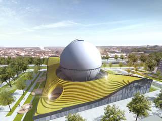 """Учебно-исследовательский центр HHN """"Газгольдер"""": Музеи в . Автор – db-arch studio"""