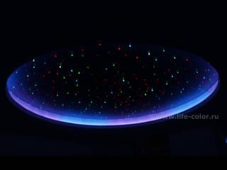 Звездное небо: Медиа комнаты в . Автор – ЗАО «Жизнь цвета»