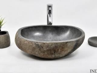 Umywalki kamienne i akcesoria River Stone od Industone.pl Eklektyczny