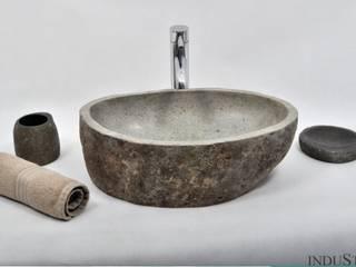 Umywalki kamienne i akcesoria River Stone od Industone.pl Minimalistyczny