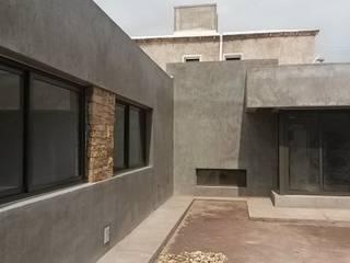 obra: Casas de estilo moderno por modulo cinco arquitectura