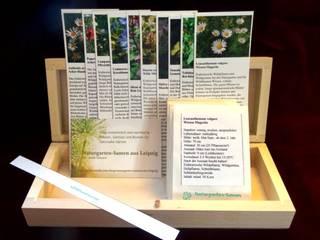 Wildblumenwiese (Saatgut-Box): landhausstil Garten von Naturgarten-Samen aus Leipzig