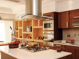Cocinas de estilo moderno por Carbone Fernandez Arquitectos