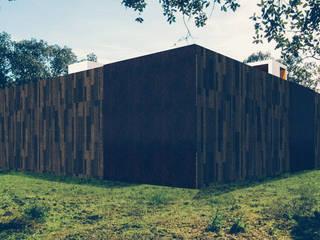 Casa em Lavre: Casas  por Tapada arquitectos,Moderno