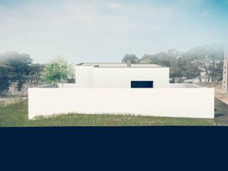 Casa no Pinhal do General: Casas  por Tapada arquitectos,Moderno
