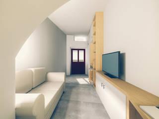 Modern Living Room by Tapada arquitectos Modern