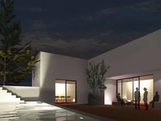 Casa em Cascais: Casas  por Tapada arquitectos,Moderno