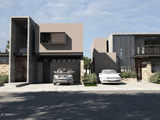 Modern houses by Tectónico Modern