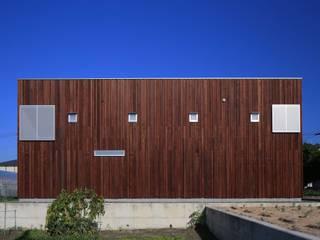 SITSUKAWA HOUSE: 髙岡建築研究室が手掛けた家です。,和風