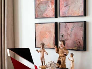 Antonio Martins Interior Design Inc Ausgefallene Wohnzimmer