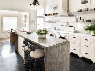 Casa em Sao Francisco - Potrero Hill: Cozinhas  por Antonio Martins Interior Design Inc,Eclético