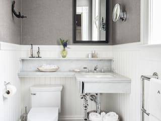 eclectic Bathroom by Antonio Martins Interior Design Inc