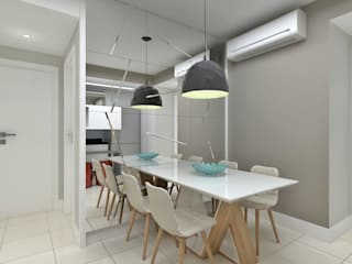 Modern dining room by Marcos Assmar Arquitetura | Paisagismo Modern