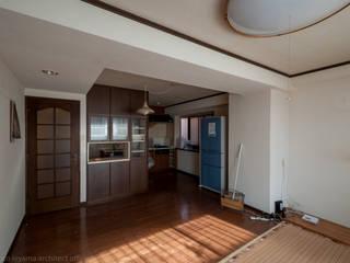 並木町のマンション|収納家具と障子で住戸のイメージを一新 の 家山真建築研究室 Makoto Ieyama Architect Office
