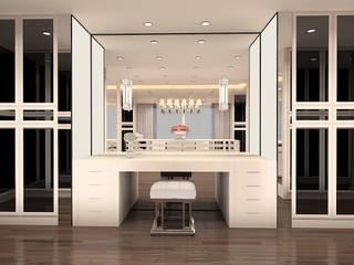 Kerim Çarmıklı İç Mimarlık – F.G. EVİ:  tarz Giyinme Odası