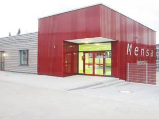 Neubau der Mensa einer Hauptschule in Frechen Ausgefallene Schulen von Noesser Padberg Architekten GmbH Ausgefallen