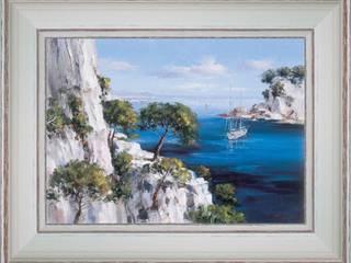Calanques entre Cassis et Marseille:  de style  par PROVENCE DISTRIBUTION - ATELIER ARTUS