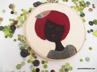 The beret girls: modern  by Thimble Hoop, Modern