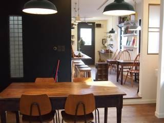 店舗部陶芸教室スペース: ReBORN House レボンハウスが手掛けた和室です。