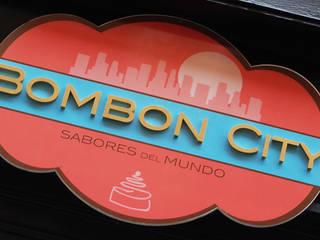 Cafetería Pastelería Bombón City Gastronomía de estilo ecléctico de FrAncisco SilvÁn - Arquitectura de Interior Ecléctico
